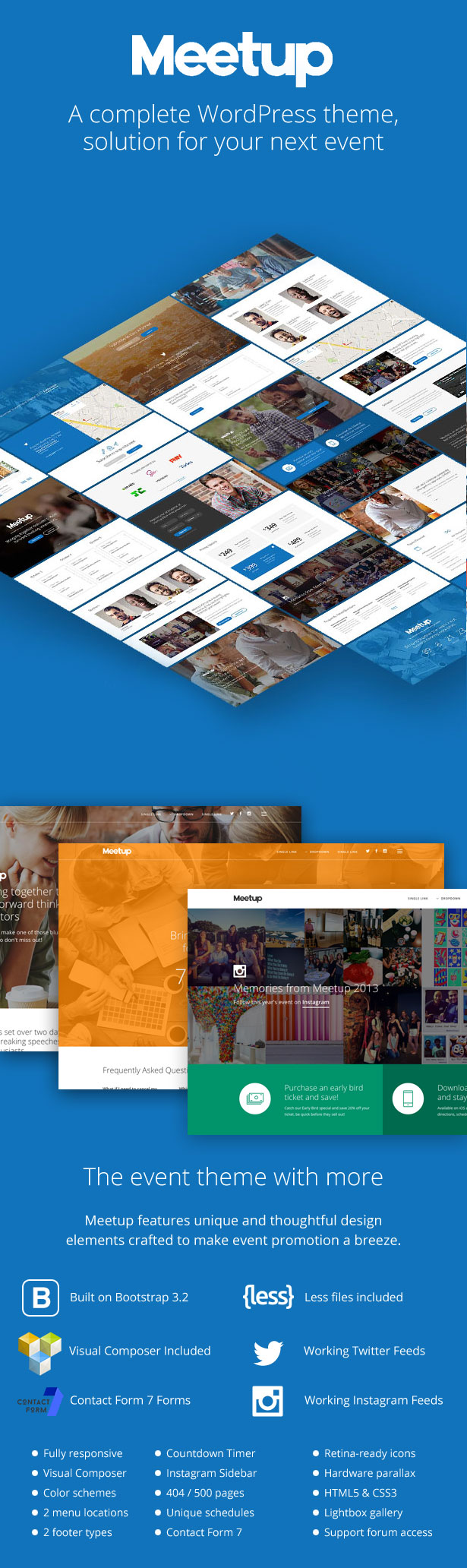 Meetup | Conference & Event WordPress Theme - 5