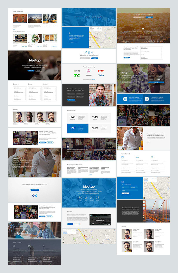 Meetup | Conference & Event WordPress Theme Download